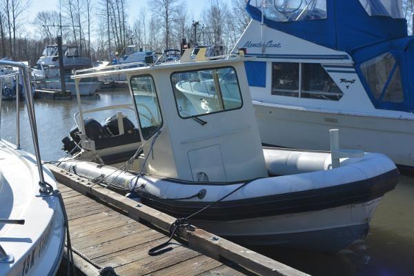 1999 Custom Aluminum Rigid hull inflatable Photo 3 sur 8