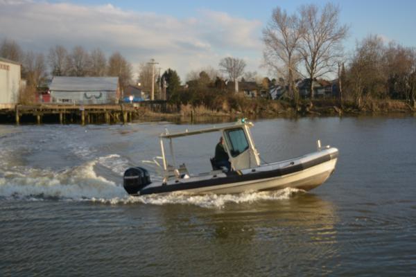 1999 Custom Aluminum Rigid hull inflatable Photo 4 sur 8