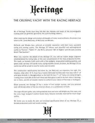 1976 Heritage Yachts 35 Photo 13 of 16
