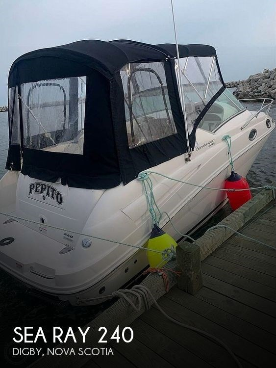 2010 Sea Ray 240 Sundancer Photo 1 of 11