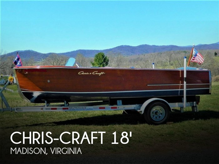1950 Chris-Craft 18' Sportsman Photo 1 sur 20