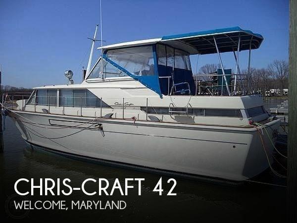 1968 Chris-Craft 42 Commander Photo 1 sur 20