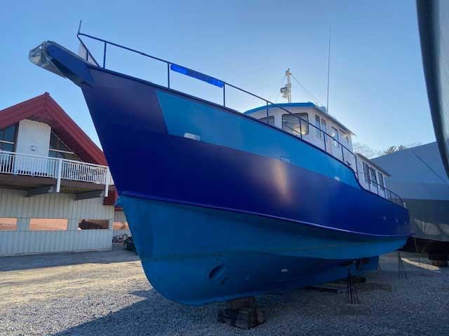 2000 Custom Steel Trawler 43 Trawler Photo 2 of 10