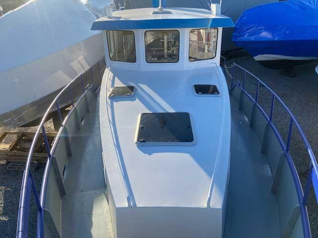 2000 Custom Steel Trawler 43 Trawler Photo 8 of 10