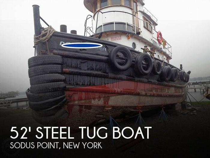 1964 52' Steel Tug Boat Larose Louisiana Built Photo 1 of 20
