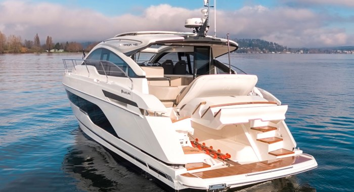 2021 Fairline 45 GT Photo 3 of 14