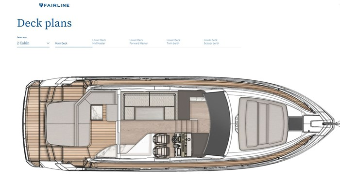 2021 Fairline 45 GT Photo 14 of 14