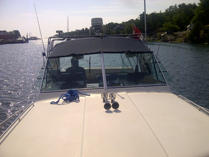 1992 Chris Craft Grew  with 2009 Crown trailer 295 Chris Craft Grew Classic Photo 1 of 5