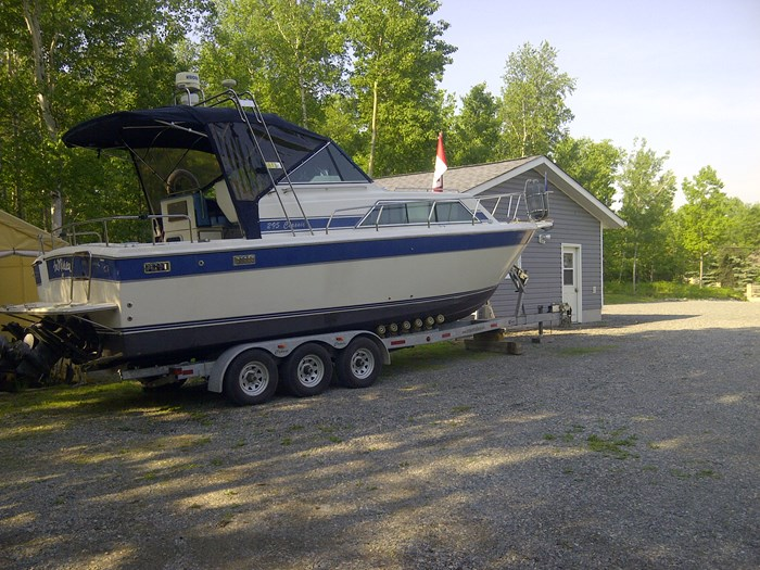 1992 Chris Craft Grew  with 2009 Crown trailer 295 Chris Craft Grew Classic Photo 5 of 5