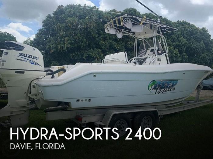 2005 Hydra-Sports Vector 2400CC Photo 1 sur 20