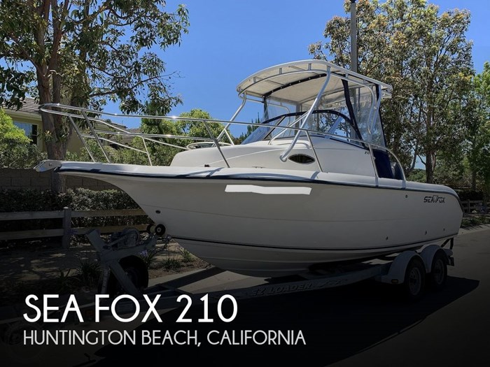 2003 Sea Fox 210 Photo 1 sur 20