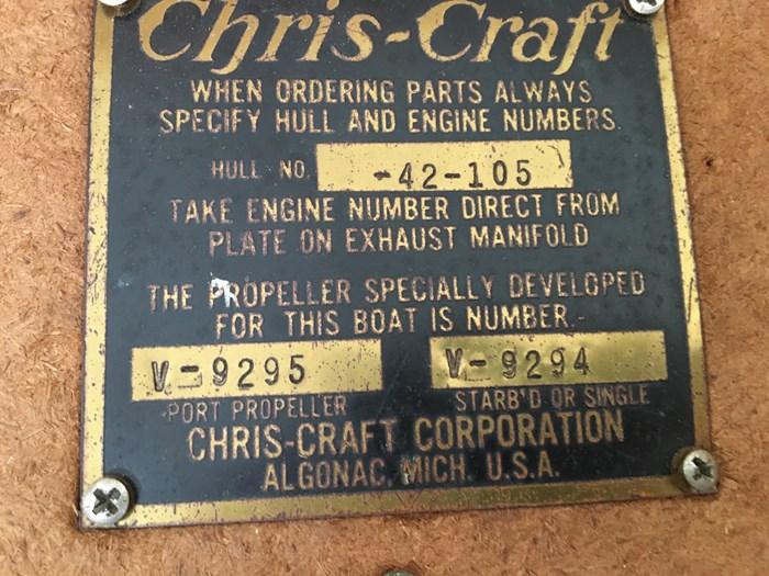 1957 Chris-Craft Constellation Photo 11 of 20