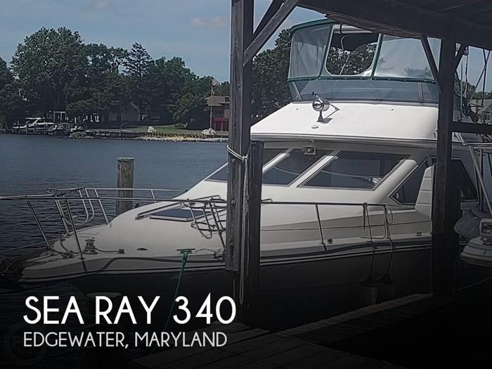 1988 Sea Ray 340 Convertible Photo 1 sur 20
