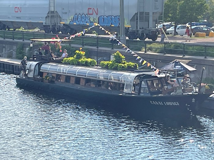 1971 Canal Boat Bateau- mouche Photo 1 of 18