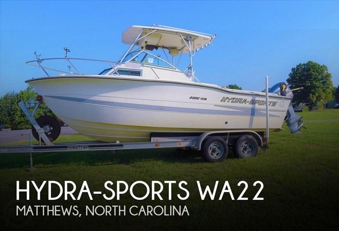 1988 Hydra-Sports 2200 WA Photo 1 sur 20