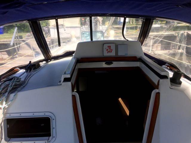 1987 Mirage Yachts Ltd. Mirage 35 Sloop Photo 3 sur 11