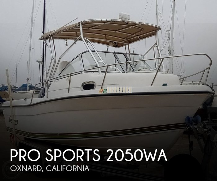 2004 Pro Sports 2050WA Photo 1 of 20