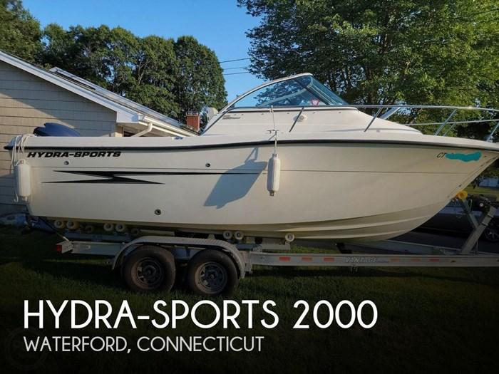 2010 Hydra-Sports 2000 WA Photo 1 sur 20