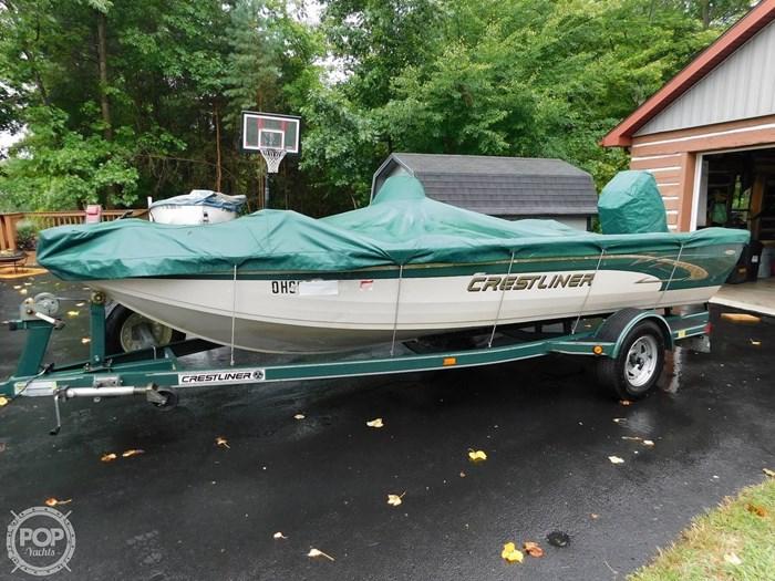 2000 Crestliner 1750 Fish Hawk SC Photo 3 sur 20