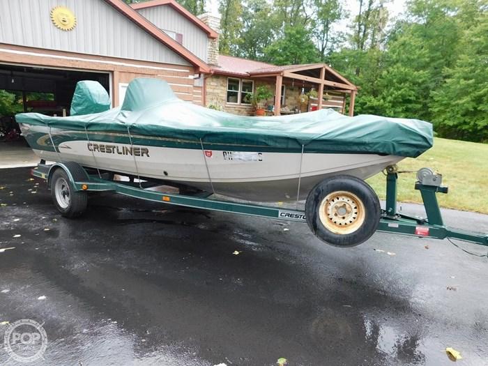 2000 Crestliner 1750 Fish Hawk SC Photo 8 sur 20