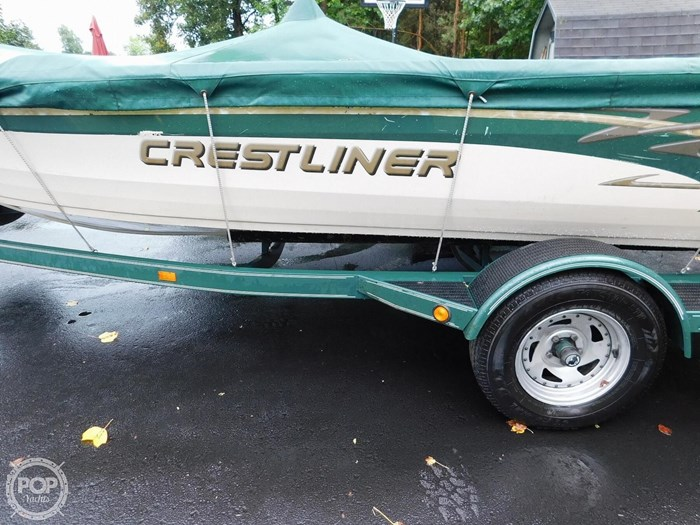 2000 Crestliner 1750 Fish Hawk SC Photo 18 sur 20