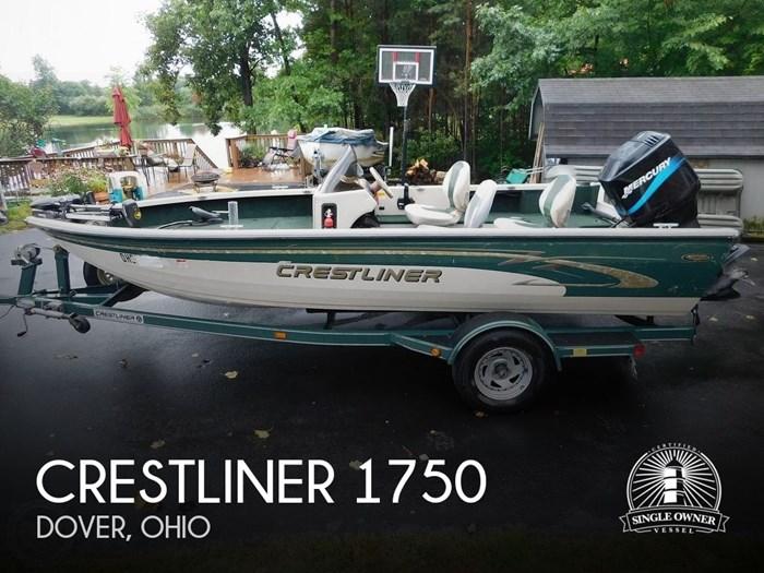 2000 Crestliner 1750 Fish Hawk SC Photo 1 sur 20