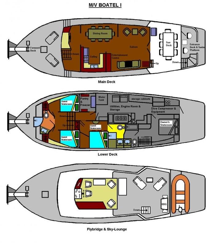 1998 AMT Motor Yacht Custom Photo 53 of 53