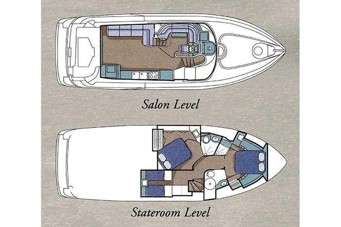 1999 Cruisers Yachts 5000 (50 Sedan Bridge) Photo 24 of 45