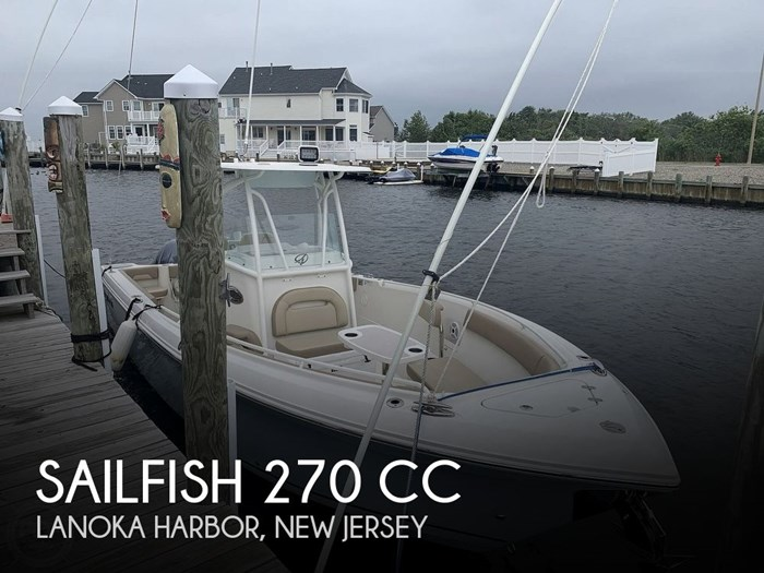 2018 Sailfish 270 CC Photo 1 sur 20