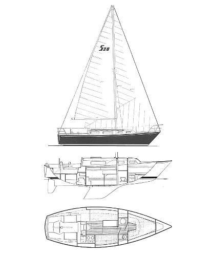 1974 Sabre Yachts 28 MK 1 Photo 5 sur 17
