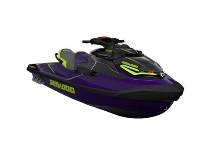 2021 Sea-Doo RXT®-X® 300 Midnight Purple Photo 1 of 1