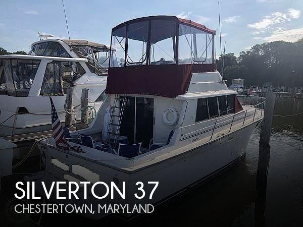 1989 Silverton 37 Convertible Photo 1 sur 20