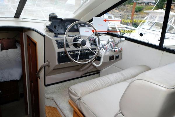 1996 Bayliner 3788 Command Bridge Motoryacht Photo 8 of 22